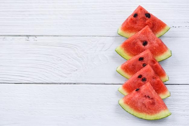 Wassermelonenscheiben Premium Fotos