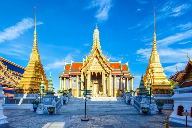 Wat phra kaew ancient-tempel in bangkok thailand Premium Fotos