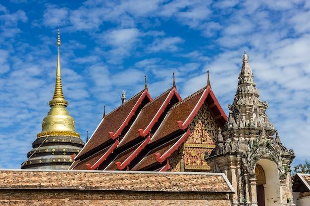 Wat phra thad lampang luang, lampang, thailand. Premium Fotos