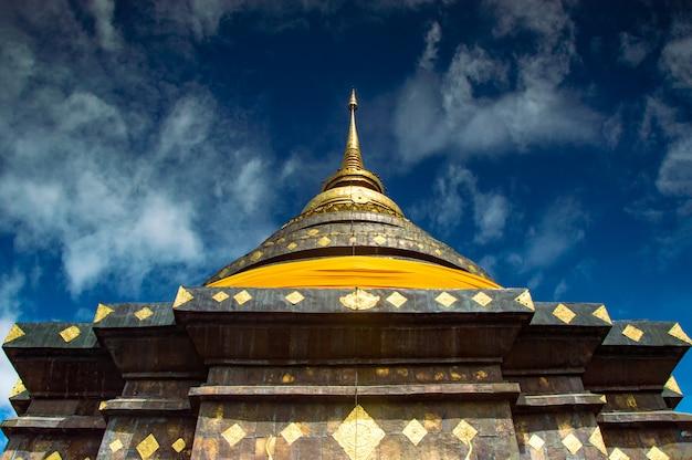 Wat phra that lampang luang ist ein buddhistischer tempel im lanna-stil in lampang in der provinz lampang, thailand. Premium Fotos