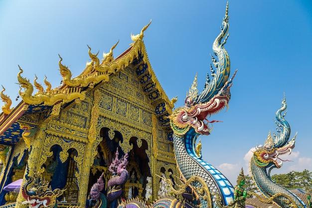 Wat rong sua ten blue tempel in chiang rai, thailand Premium Fotos