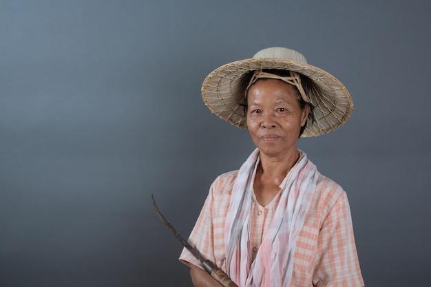 Weibliche landwirte im studio Kostenlose Fotos
