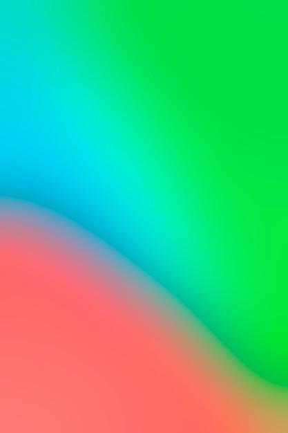Weiche schattierung von hellen farben Kostenlose Fotos