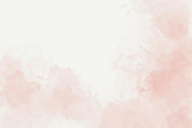 Weicher rosa abstrakter hintergrund des aquarells Premium Fotos