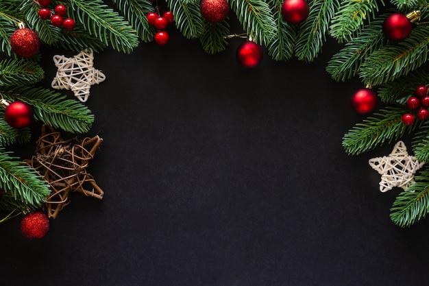 Weihnachten dekoriert haus thema. Premium Fotos