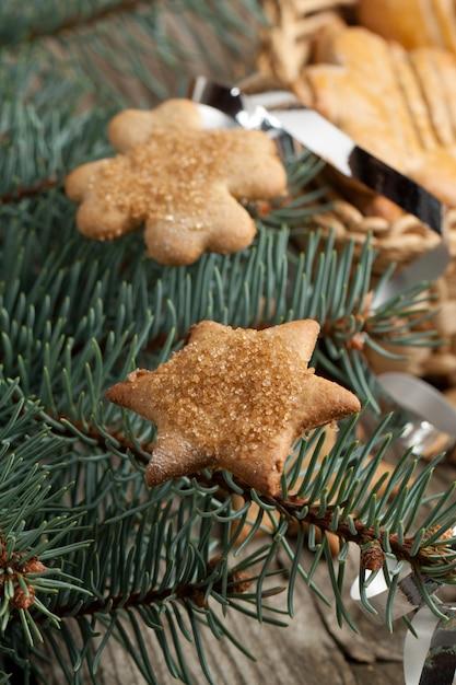 Weihnachten hausgemachte kekse Premium Fotos