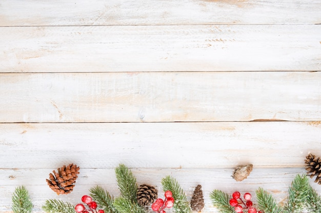 weihnachten hintergrund weihnachten dekoration elemente und ornament rustikal auf wei em holz. Black Bedroom Furniture Sets. Home Design Ideas