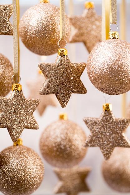 Weihnachten. weihnachtsdekoration und grußkarte. symbol weihnachten. Premium Fotos