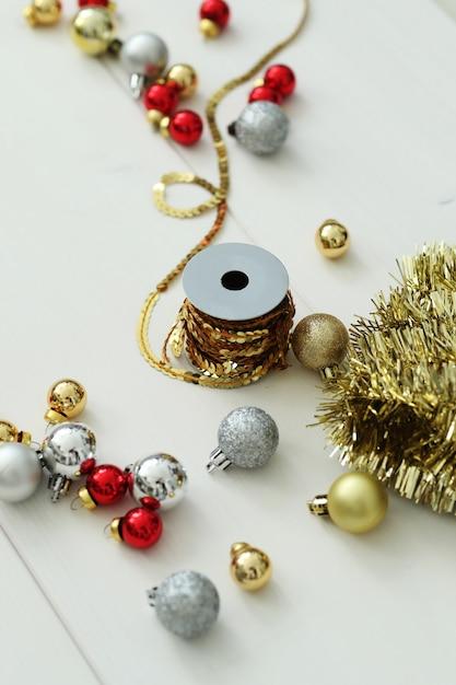 Weihnachtsdekoration zusammensetzung Kostenlose Fotos