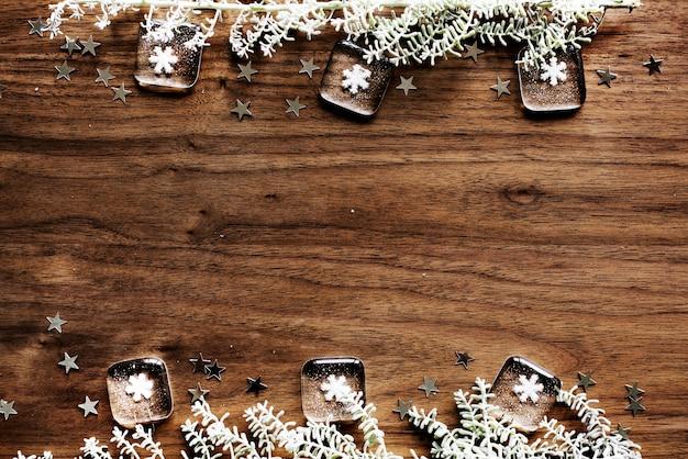 Weihnachtsdesign-raumtapete Kostenlose Fotos