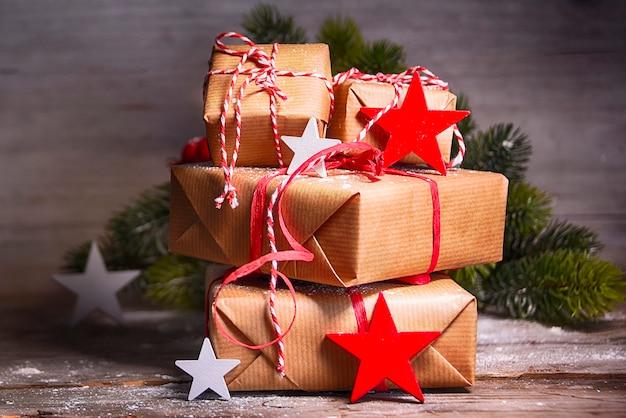 Weihnachtsfeiertag hintergrund Premium Fotos