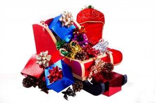 Weihnachtsgeschenke Bilder Kostenlos.Weihnachtsgeschenke Schlitten Download Der Kostenlosen Fotos