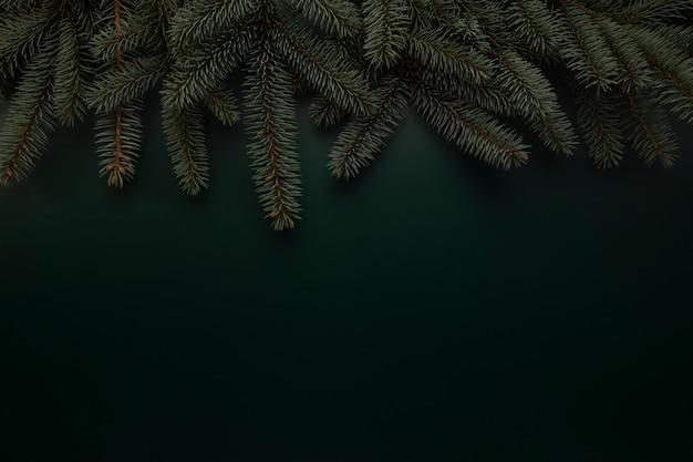Weihnachtsgrüner hintergrund Premium Fotos
