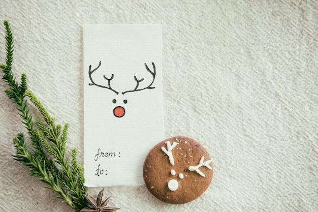 Charmant Hausgemachte Weihnachtskarten Vorlagen Galerie - Entry ...