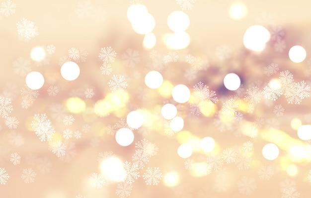 Weihnachtsschneeflocke Premium Fotos