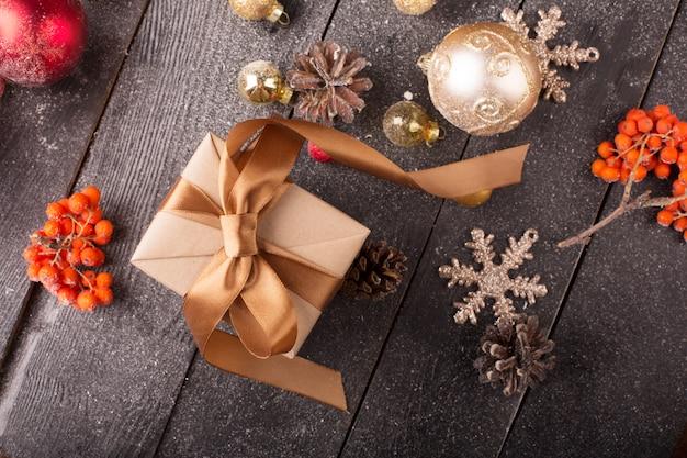 Weihnachtsstillleben Premium Fotos