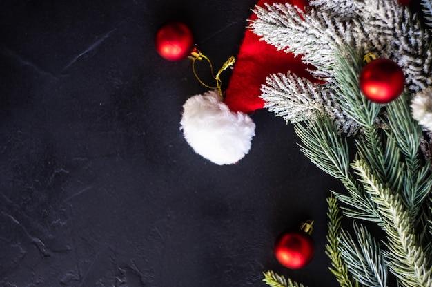 Weihnachtsszene konzept Premium Fotos