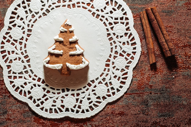 Weihnachtsthema cookies Premium Fotos