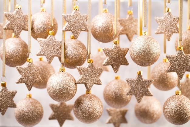 Weihnachtsweihnachtsdekor und grußkarte Premium Fotos