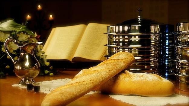 Wein kommunion letzte abendmahl kirche brot Kostenlose Fotos
