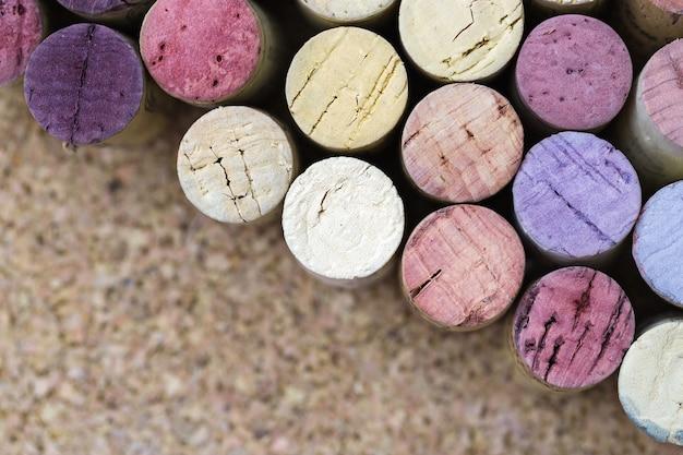 Weinkorken hautnah Premium Fotos