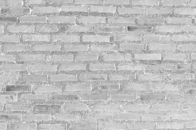 Weiße backsteinmauer für muster und hintergrund. Premium Fotos
