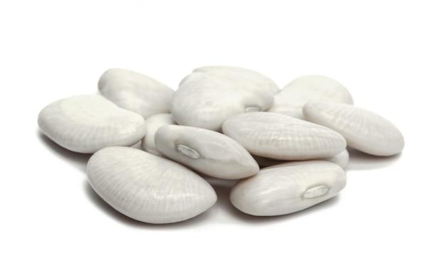 Weiße bohnen Premium Fotos