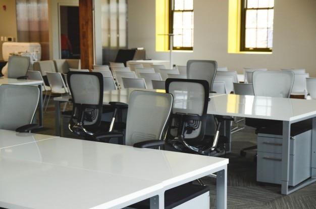 Weiße Büromöbel | Download der kostenlosen Fotos