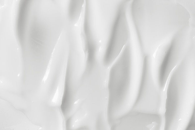 Weiße kosmetische sahnebeschaffenheit Premium Fotos