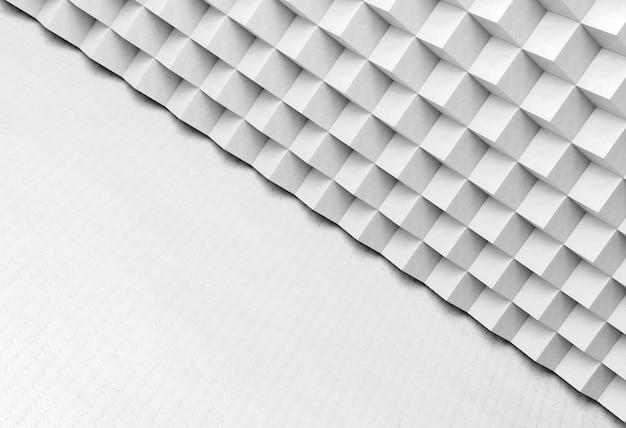 Weiße moderne geometrische tapete mit formen Kostenlose Fotos