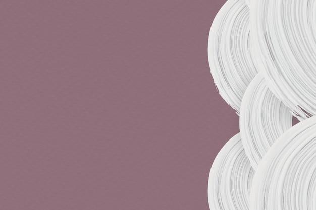 Weiße pinselanschläge auf einem hintergrund Kostenlose Fotos
