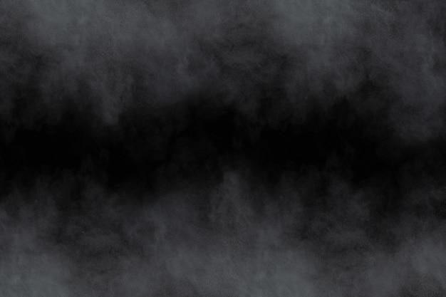 Weiße pulverexplosion auf schwarzem hintergrund. Premium Fotos