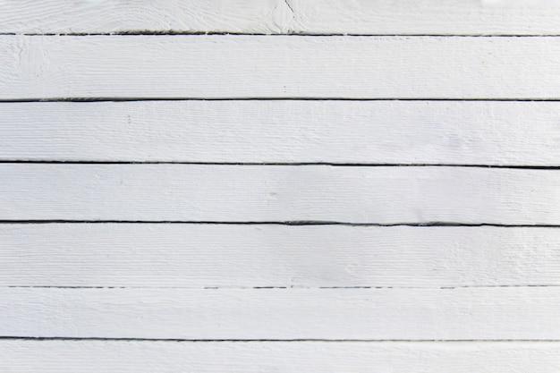 Weißer gemalter hölzerner strukturierter plankenhintergrund Kostenlose Fotos