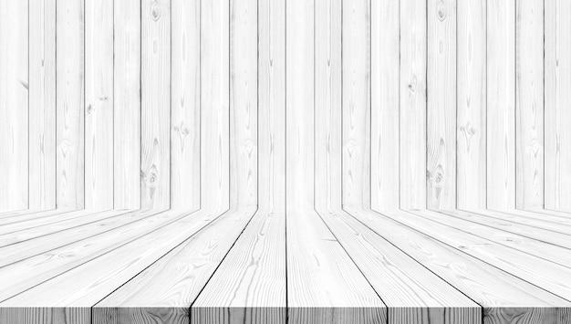 Weißer hölzerner beschaffenheitshintergrund Premium Fotos