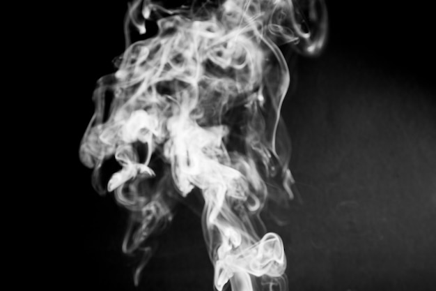 Weißer rauch der nahaufnahme Kostenlose Fotos