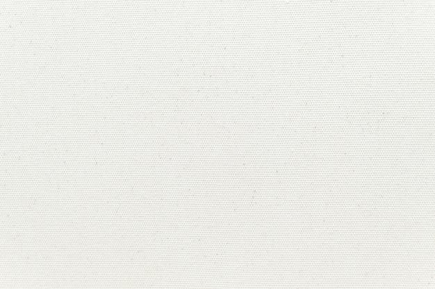 Weißer segeltuchbeschaffenheitshintergrund. nahansicht. Premium Fotos