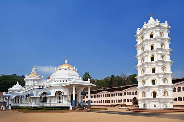 Weißer tempel Premium Fotos