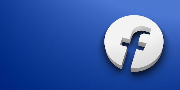 Weißes logo der sozialen medien Premium Fotos