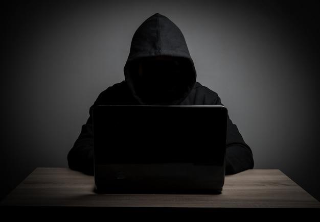 Weißes notebook black data firewall Kostenlose Fotos