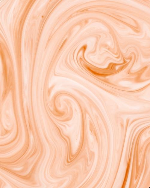 Weißes und orange gewelltes beschaffenheitsmuster des abstrakten fractal Kostenlose Fotos
