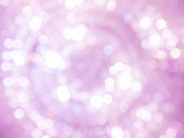 Weißes und rosa abstraktes hintergrundschein bokeh unscharfes schönes glänzendes lichtaufflackern Premium Fotos