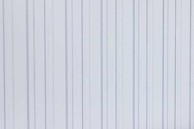 Weißes wellblechbeschaffenheits-oberflächenblatt für industriegebäudehintergrund Premium Fotos