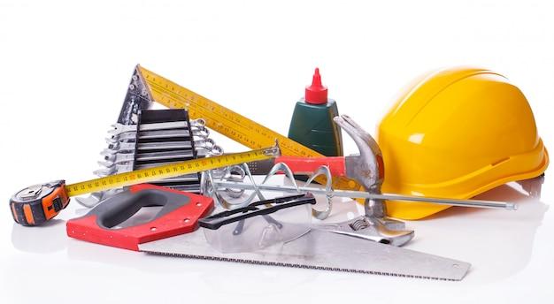 Werkzeuge auf dem tisch Kostenlose Fotos