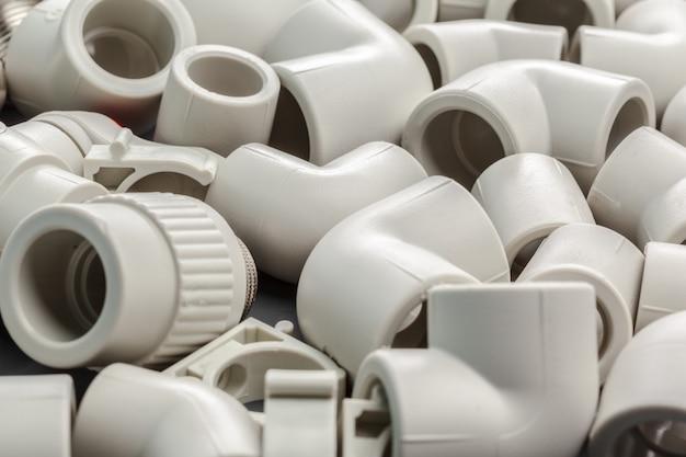 Werkzeuge und materialien für sanitärarbeiten Premium Fotos