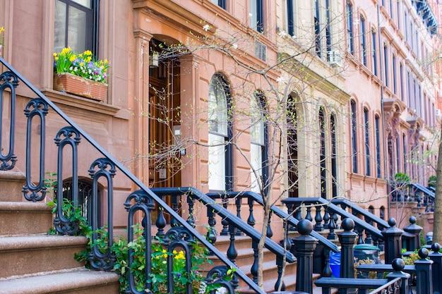 West village in new york manhattan Premium Fotos