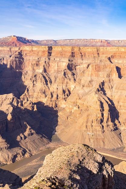 Westrand des grand canyon Premium Fotos