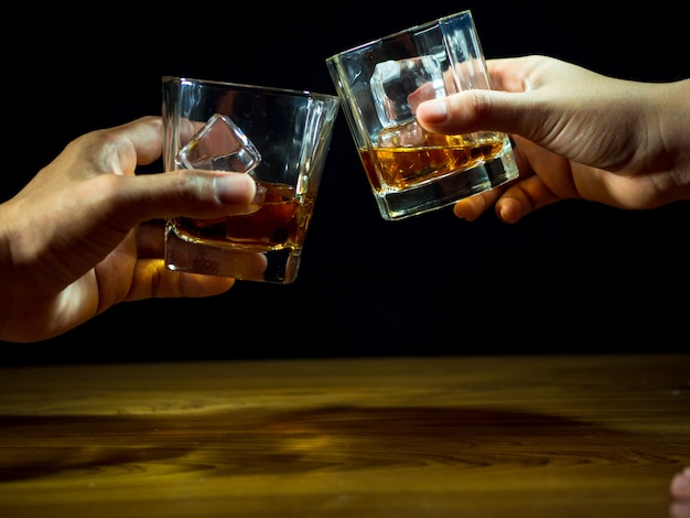 Whisky-feier Premium Fotos