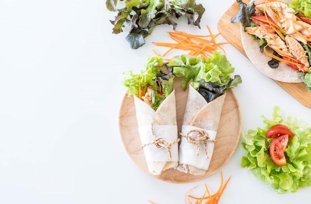 Wickeln salat rollen Kostenlose Fotos