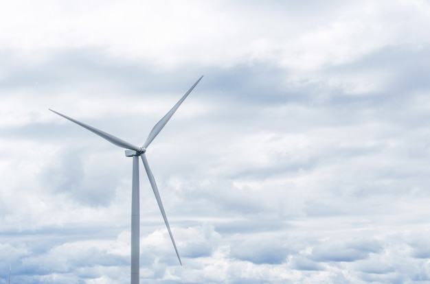Windmühlen saubere energie Premium Fotos