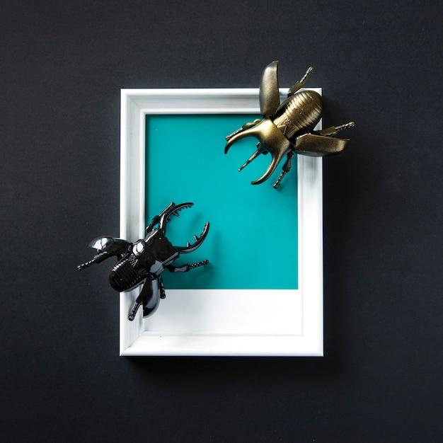 Winged käfer insekt spielzeuggegenstand Kostenlose Fotos